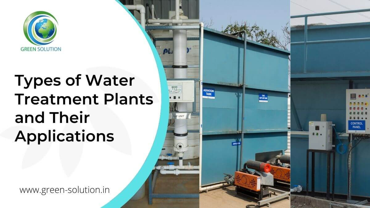 Types of Water Treatment Plants